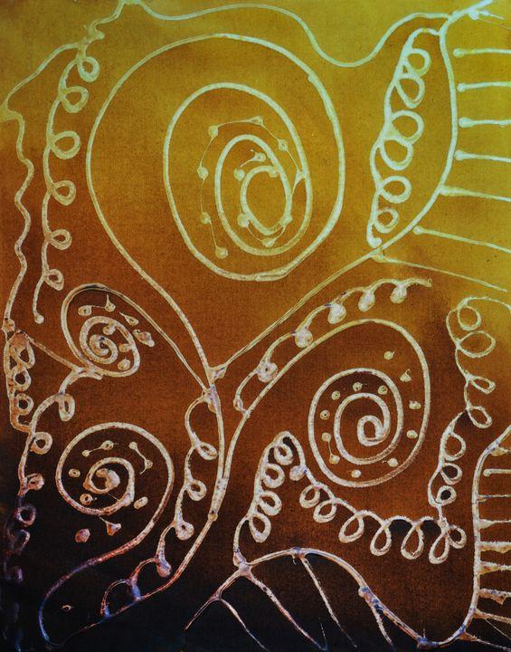 Oriental Spirals - Aartzy - Let's Talk Expressions