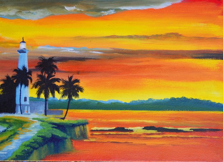 Sunset by the Sea - Aartzy - Let's Talk Expressions