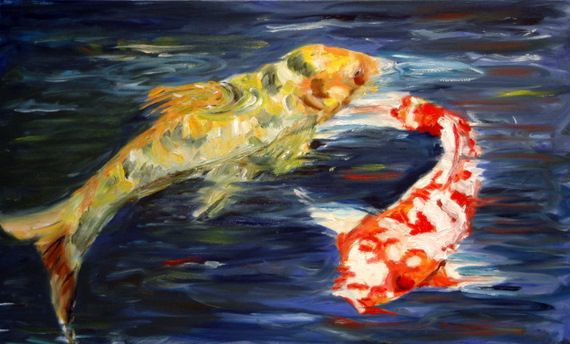 Pair of Koi Fish - Aartzy - Let's Talk Expressions