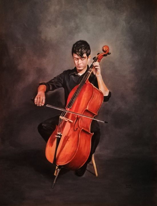 The Cellist - Aartzy - Let's Talk Expressions