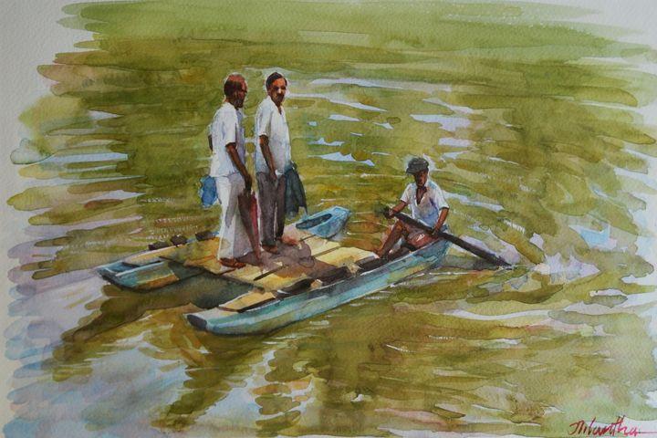 Lifeline Across Waters - Aartzy - Let's Talk Expressions