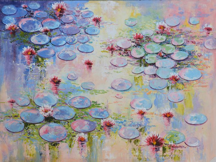 Pond of Blooms - Aartzy - Let's Talk Expressions