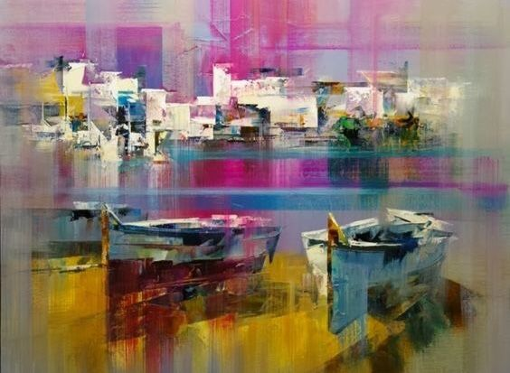 Boats at the Quay - Aartzy - Let's Talk Expressions