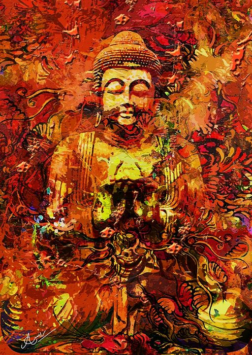 Autumn Buddha - Aartzy - Let's Talk Expressions
