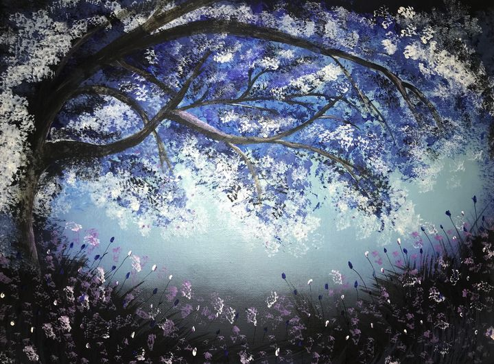 Cold Forest - Sharley May Art