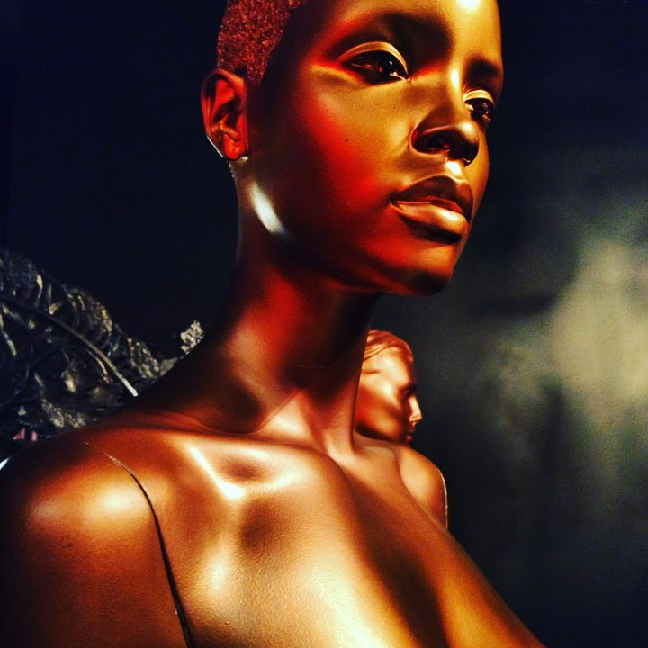 The Copper Woman - CYNVision Art and Photography