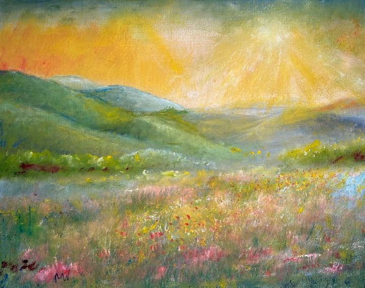 SPRING IN THE MOUNTAINS - Wickstrom Art
