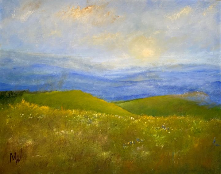 HAZY AFTERNOON IN THE BLUE MOUNTAINS - Wickstrom Art