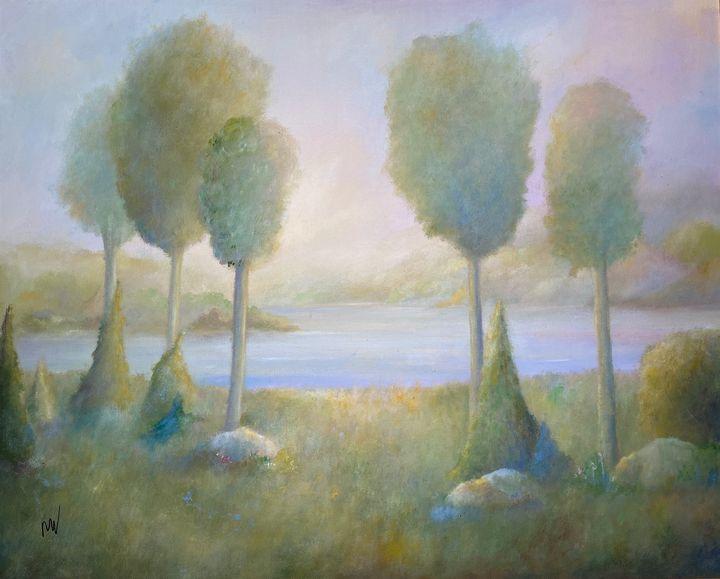 SILENT MORNING - Wickstrom Art