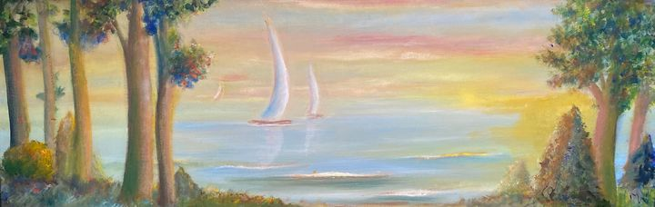 SAILING THROUGH THE AFTERNOON - Wickstrom Art