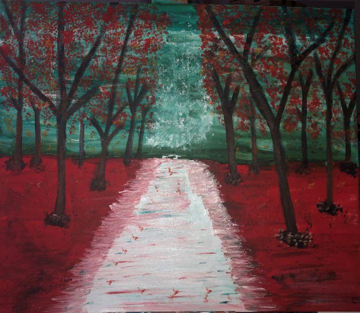 Red winter - Ivan Ivanoff