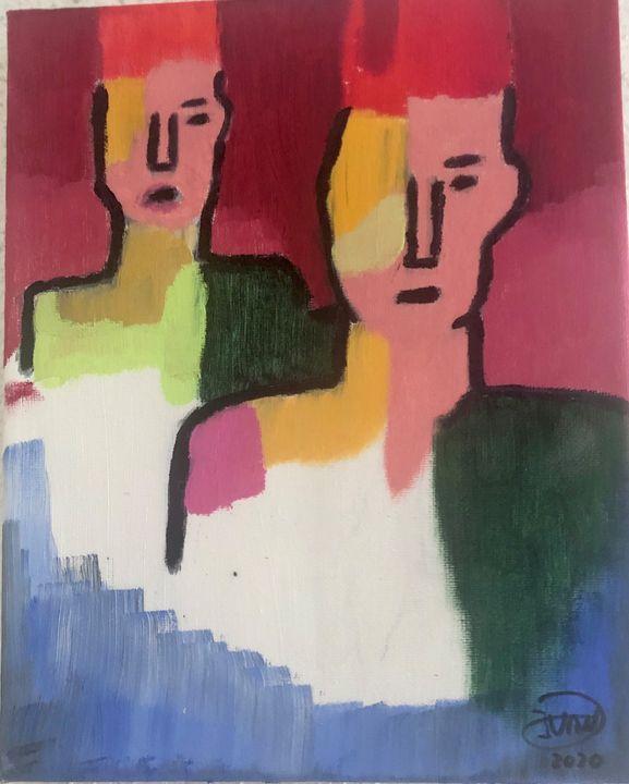 Two faces - Ivan Ivanoff