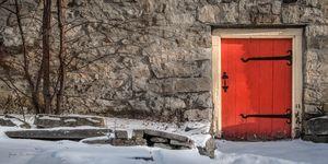 Red Cellar Door