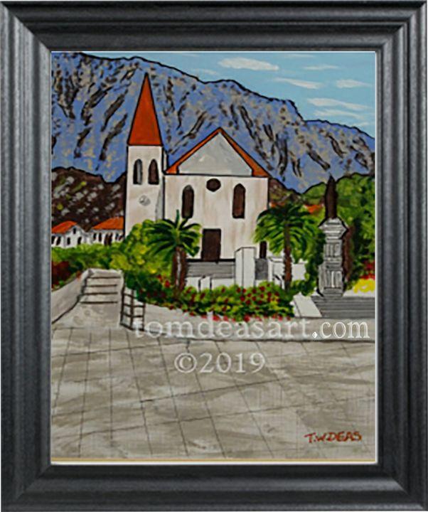 St. Peters Church, Makarska, Croatia - TOMDEASART