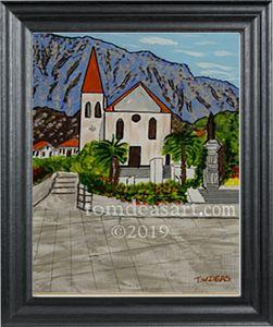 St. Peters Church, Makarska, Croatia