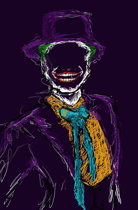 The Joker - Drawings by Joshor