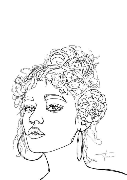 """Flowing Elegance"" - Tayla Milne"