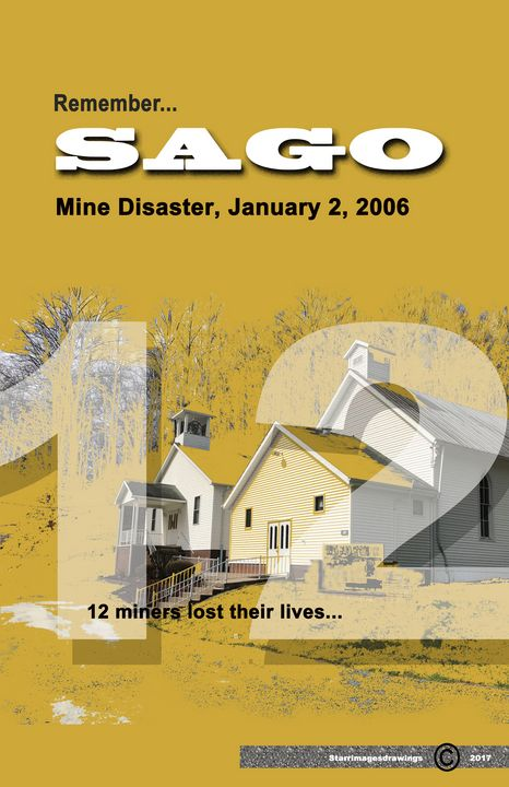 Sago Mine Disaster Poster - Donald Corpier Starr