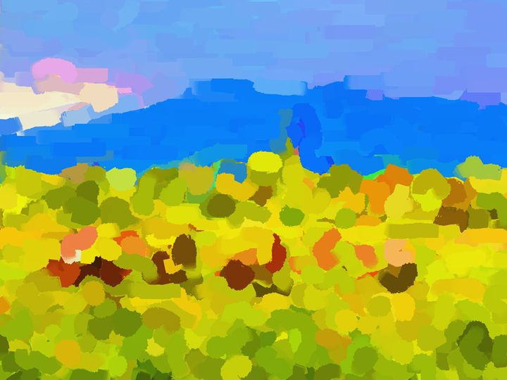 In the field - Paintings and prints