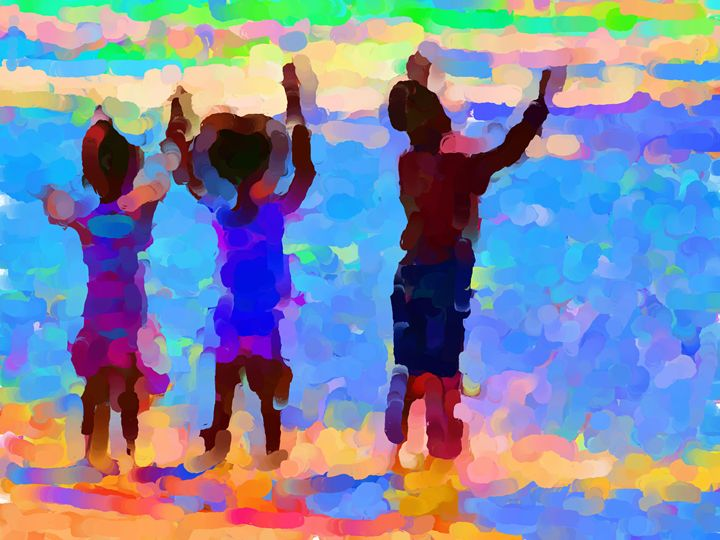 We are The Children - Paintings and prints