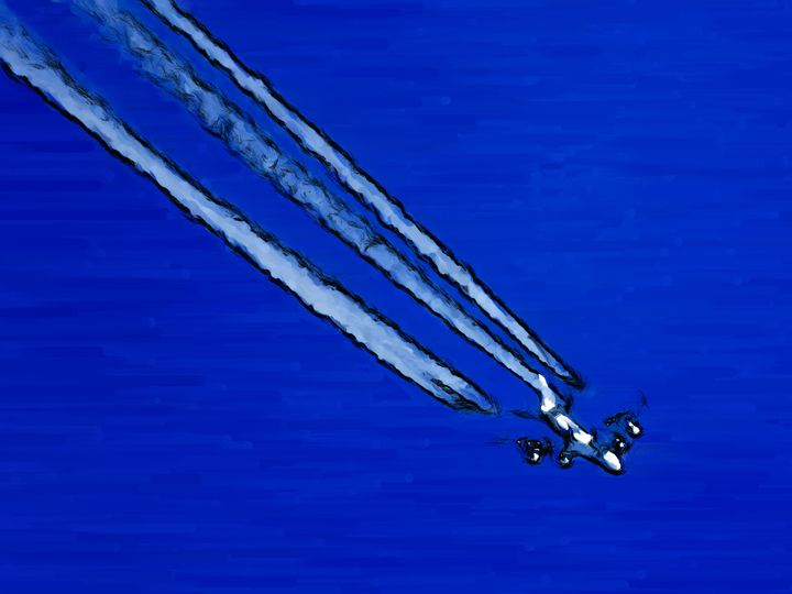Missed a plane - Paintings and prints