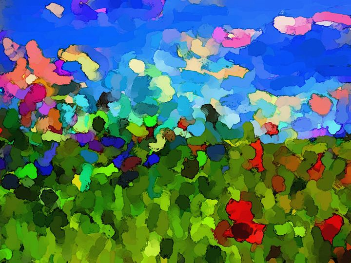 The Fields Of Love - Paintings and prints
