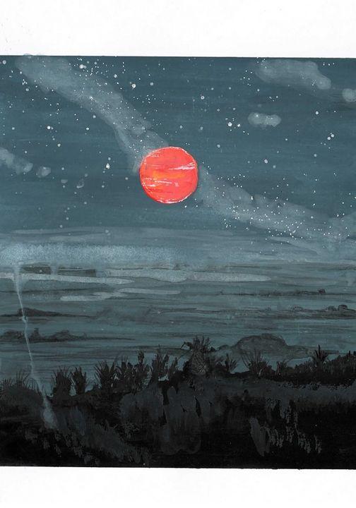 Blood Moon - Niva Art