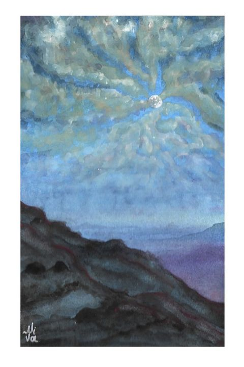 Moon catches the attention 3 - Niva Art