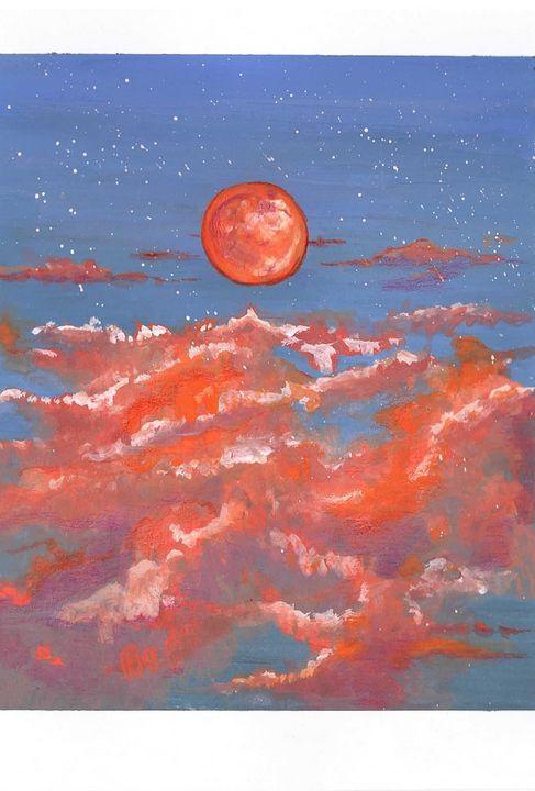 Red Moon - Niva Art