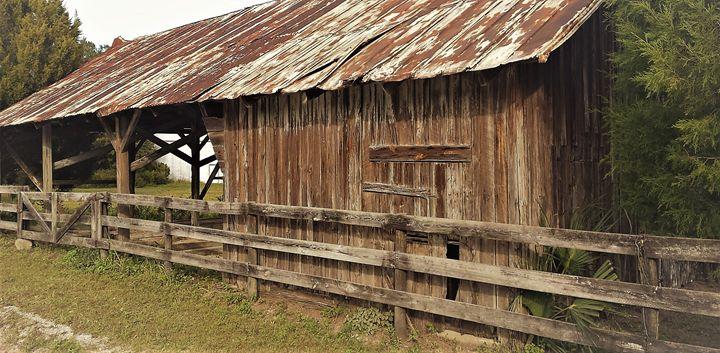 Rustic old barn - RedBone Country Creations