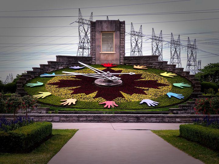 Niagara Floral Clock June 2017 - Leslie Montgomery