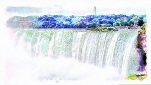 Waterwall - Horseshoe Falls - Leslie Montgomery