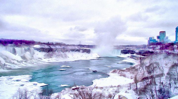 Winter In Niagara - Leslie Montgomery
