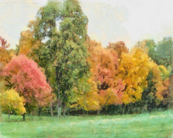 Autumn Glory - Leslie Montgomery
