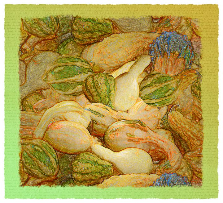 Pile O Gourds - Leslie Montgomery