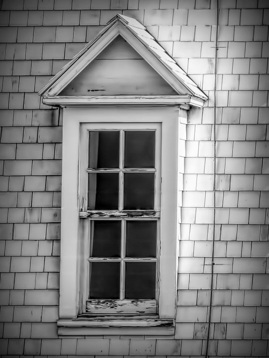 Vintage Dormer Window - Leslie Montgomery
