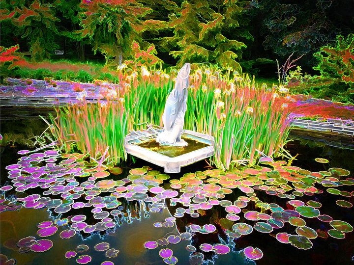 Spring Water Pond - Leslie Montgomery