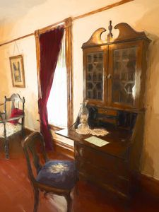 The Writing Desk - Leslie Montgomery