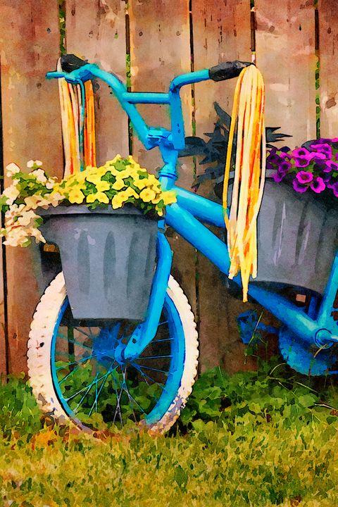 Garden Bike - Front End - Leslie Montgomery