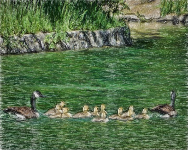 Family Outing - Leslie Montgomery