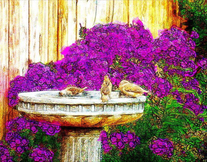 Communal Bath - Leslie Montgomery