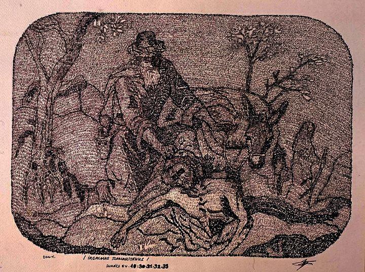 Parable of the Good Samaritan - Flo Art Botos
