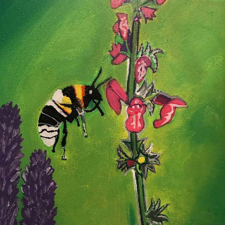 Bees at Work - SterlingRose