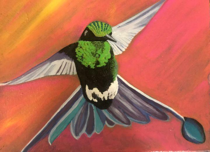 Humming Bird Flight - SterlingRose
