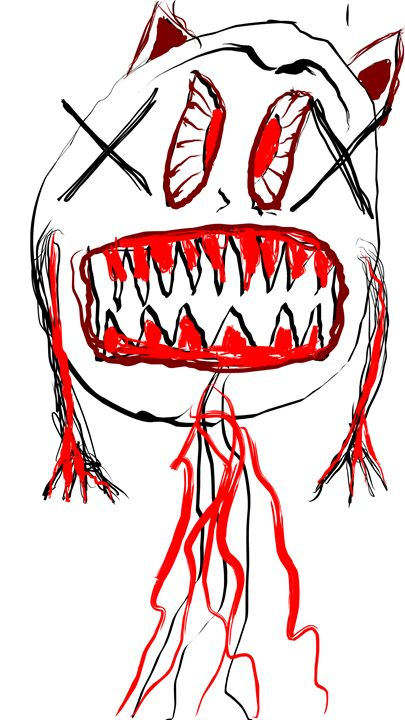 Ghastly Ghoul Gary - Tyler Dylan Brown's Galleria