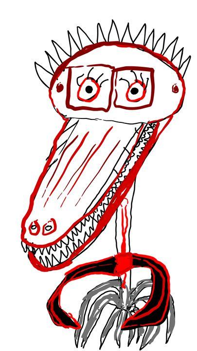 Monster Warning - Tyler Dylan Brown's Galleria