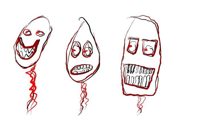 Three Balloons - Tyler Dylan Brown's Galleria