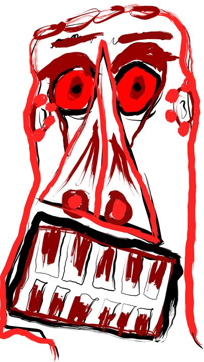 Doom Face - Tyler Dylan Brown's Galleria