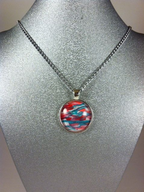 Picasso necklace : Boat in the Wind - Karolejean Design