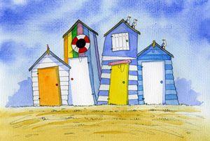 Beach Huts #3